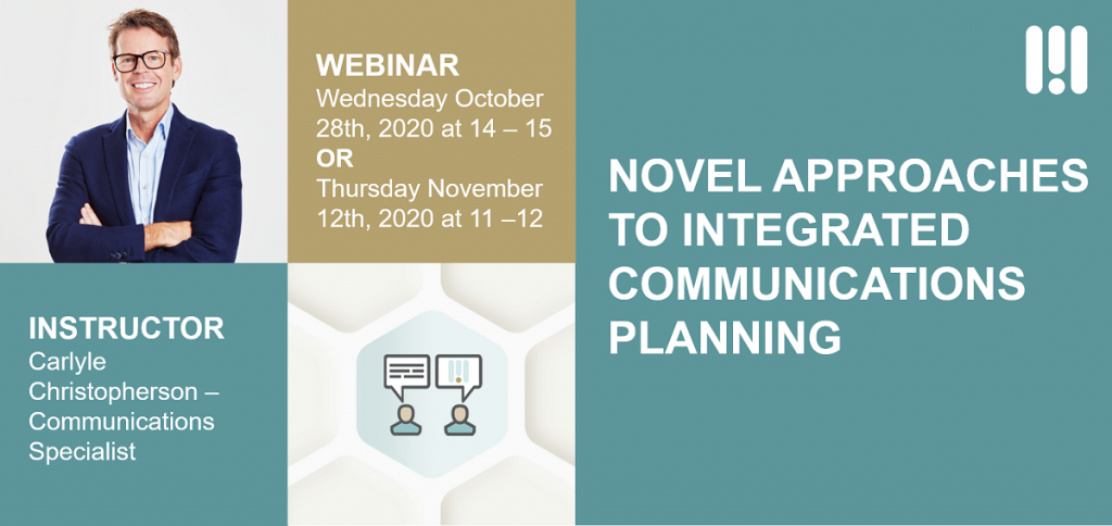 MB Webinar Novel Approaches to Communications Planning